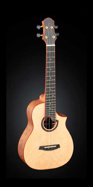 Concert Ukulele with steelstrings