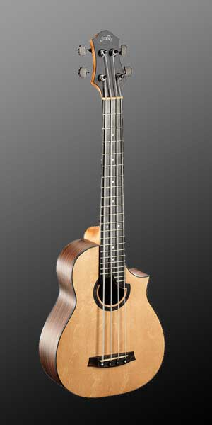 Bass-Ukulele with Cutaway : €1400