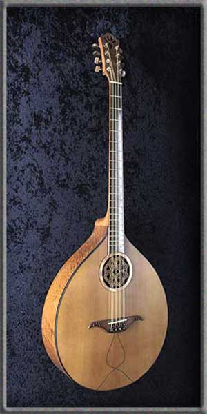 Irish Bouzouki Medieval – Custom